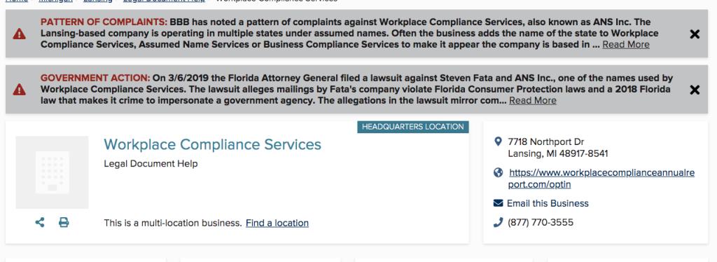 Complaints, Lawsuit Claims Michigan Company Deceiving